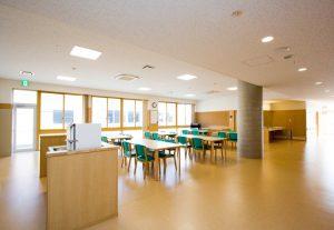 特別養護老人ホーム 食堂・機能回復訓練室