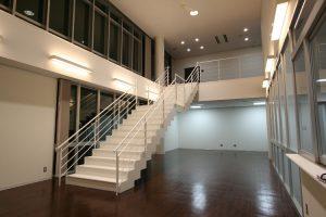 鉄骨階段 エントランスホール