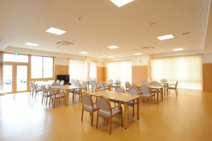 特別養護老人ホーム デイサービスルーム