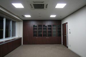 応接室 収納戸棚